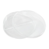 90mm x 15mm Divided Disposable Petri Dish