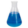 300mL Chemware® PFA Graduated Erlenmeyer Flasks