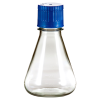 250mL Polycarbonate Sterile Erlenmeyer Flasks with 38/430 Caps