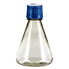 500mL Polycarbonate Sterile Erlenmeyer Flasks with 38/430 Caps