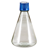 2000mL Polycarbonate Sterile Erlenmeyer Flasks with 53B Caps