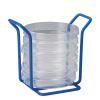 6 Places Poxy Grid 100mm Petri Dish Mini Rack