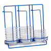 33 Places Poxy Grid 100mm Petri Dish Dispensing 3 Column Rack
