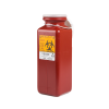 .7 Quart Red Non-Stackable Sharps Container