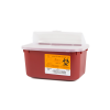 1 Gallon Red Stackable Sharps Container