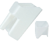 "PP Large White Scoop 9 1/4"" x 6"" x 5"""