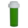 8 Dram Green Vial with Reversible Cap