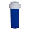 8 Dram Blue Vial with Reversible Cap