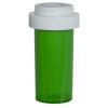13 Dram Green Vial with Reversible Cap