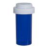 13 Dram Blue Vial with Reversible Cap