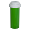 16 Dram Green Vial with Reversible Cap