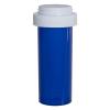 16 Dram Blue Vial with Reversible Cap