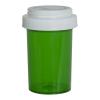 20 Dram Green Vial with Reversible Cap
