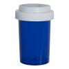 20 Dram Blue Vial with Reversible Cap