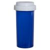 30 Dram Blue Vial with Reversible Cap