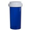 40 Dram Blue Vial with Reversible Cap