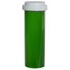 60 Dram Green Vial with Reversible Cap