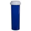 60 Dram Blue Vial with Reversible Cap