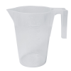 14.8cc (1 Tbsp.) Natural Polypropylene Tiered Scoop