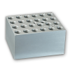 24 Slots x 1.5mL or 2mL Centrifuge Tubes Block