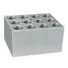 12 Slots x 5mL or 17mm Dia. Centrifuge Tubes Block