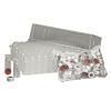2mL Clear Basic Crimp Top Vials with Crimp Top & Clear PTFE/Red Rubber Septa - Case of 1000