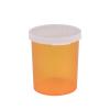 30 Dram Amber Polypropylene Snap Cap Vials - Case of 280