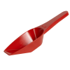 50mL Red Polypropylene Laboratory Scoops - Pack of 12