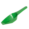 100mL Green Polypropylene Laboratory Scoops - Pack of 12