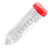 50mL Polystyrene General Purpose Centrifuge Tubes with Caps - Case of 500