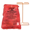 """BX100 Biohazard Benchtop 8-1/2"""" X 11"""" Bags"""