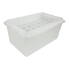 118 oz. Polypropylene Containment Tray with 28 Places for 50mL Tubes
