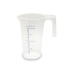 "250mL Economy Graduated Pitcher 3"" D x 4 3/4"" H"
