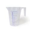 "1 Liter Economy Graduated Pitcher 5"" Dx 6 3/4"" H"