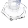 10mL Class A Borosilicate Glass Squat Cylinder