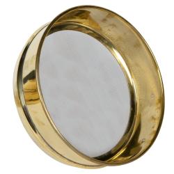 500 µm Stainless Steel Mesh Brass Testing Sieve