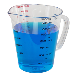1 Quart Clear Commercial Measuring Cup