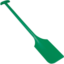 "Green Remco® Mixing Blade without Holes - 6"" x 13"" x 40"""