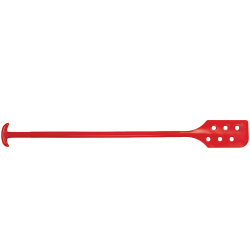 "Red Remco® Mixing Blade with Holes - 6"" x 13"" x 52"""