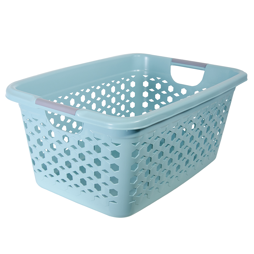 Links Pattern Laundry Basket & Lidded Hamper