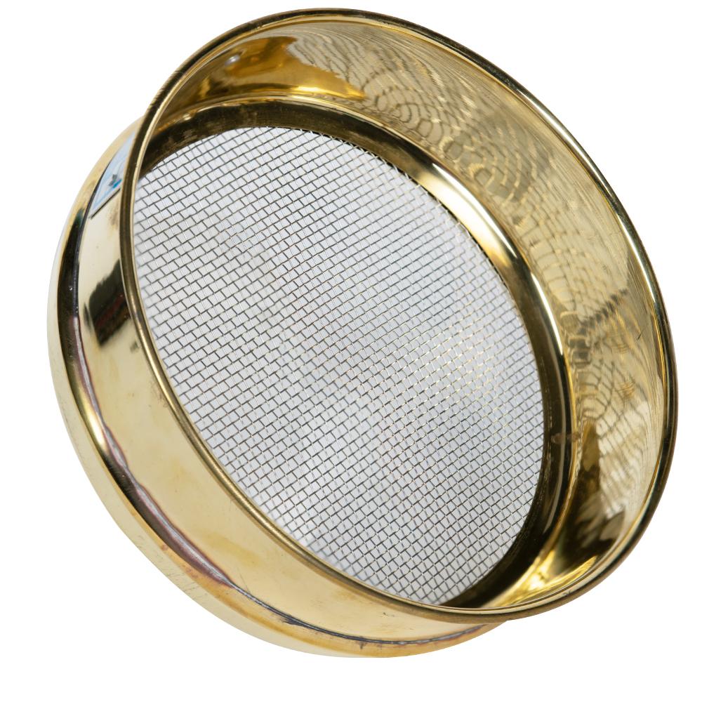 2mm Stainless Steel Mesh Brass Testing Sieve
