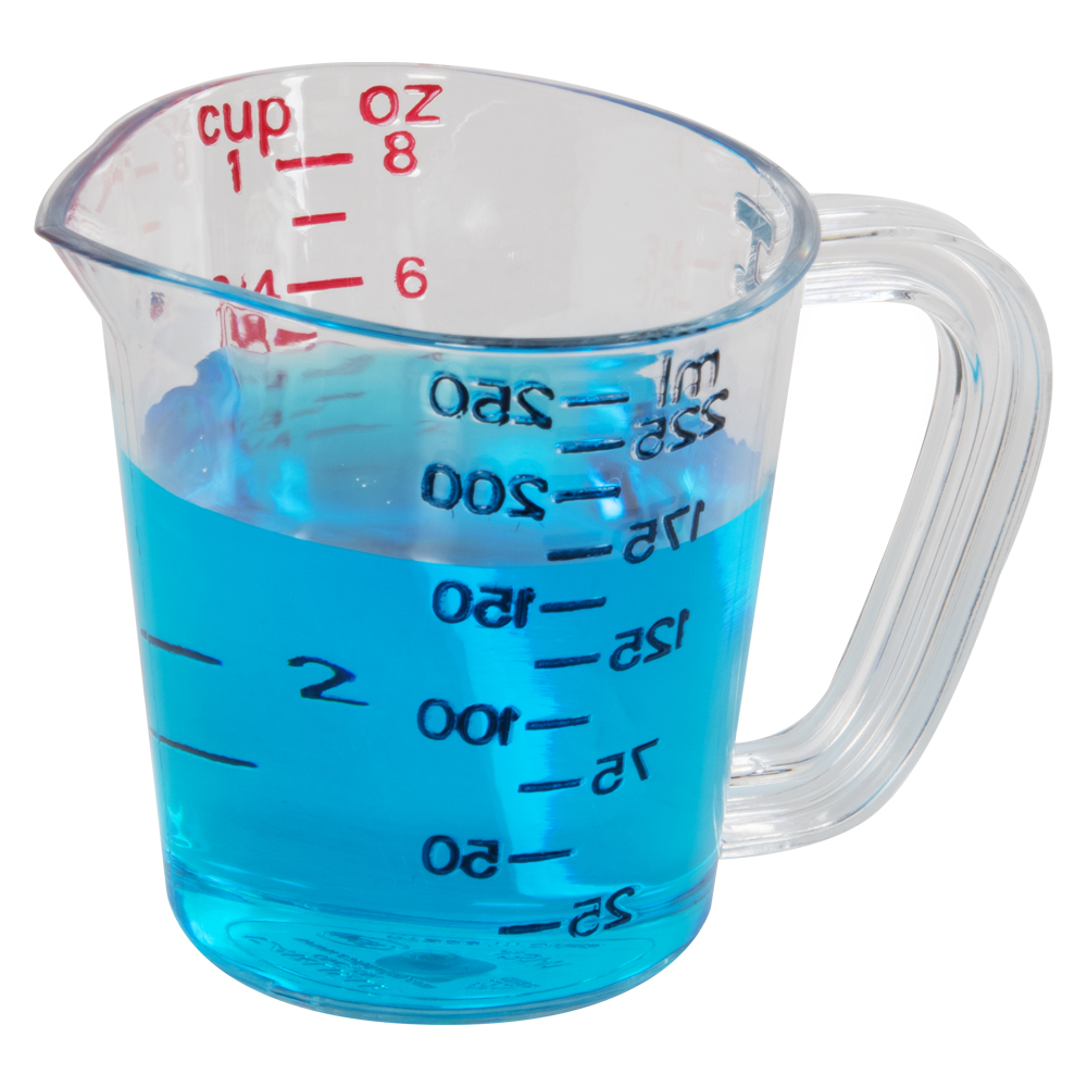 1 Cup Clear Commercial Measuring Cup