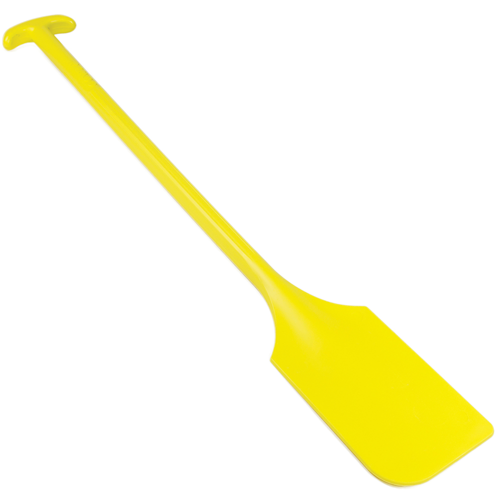 """Yellow Remco® Mixing Blade without Holes - 6"""" x 13"""" x 40"""""""