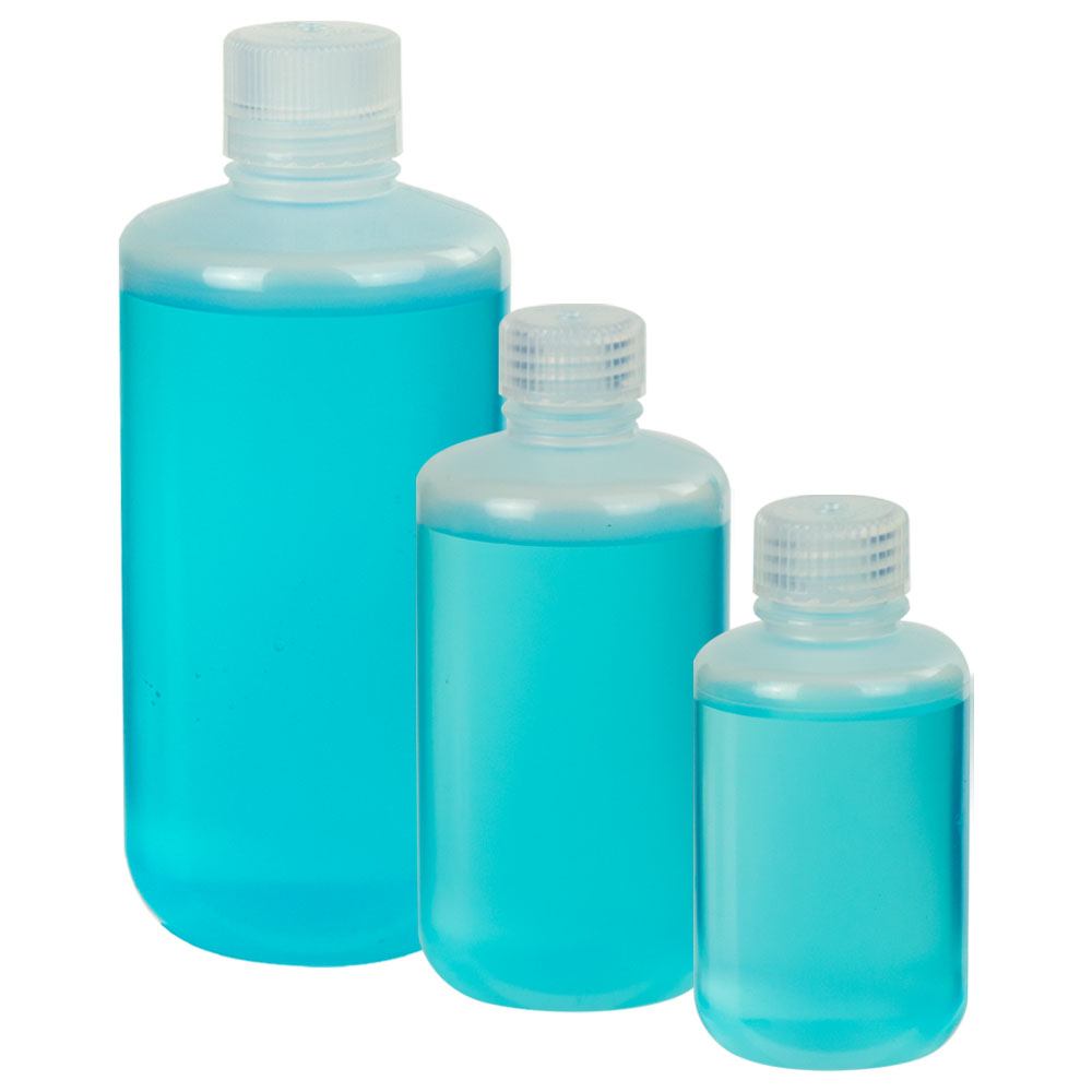 Thermo Scientific™ Nalgene™ Narrow Mouth Economy Polypropylene Bottles