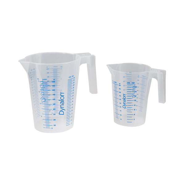 Graduated Polypropylene Beaker with Handle