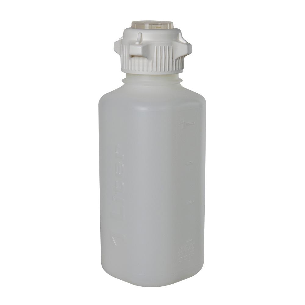 1L Polypropylene Heavy Duty Vacuum Bottle with 53mm Open Cap