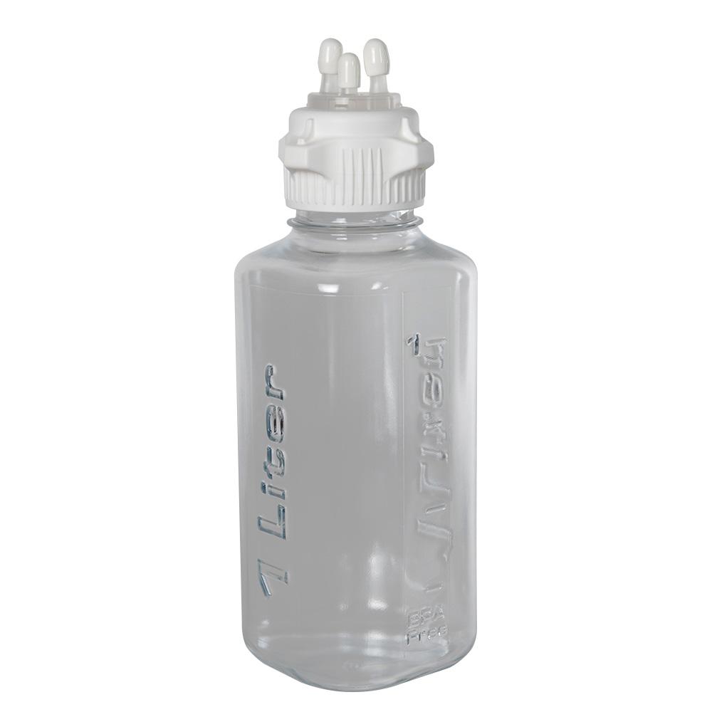 1L PETG Heavy Duty Vacuum Bottle with 53mm Open Cap