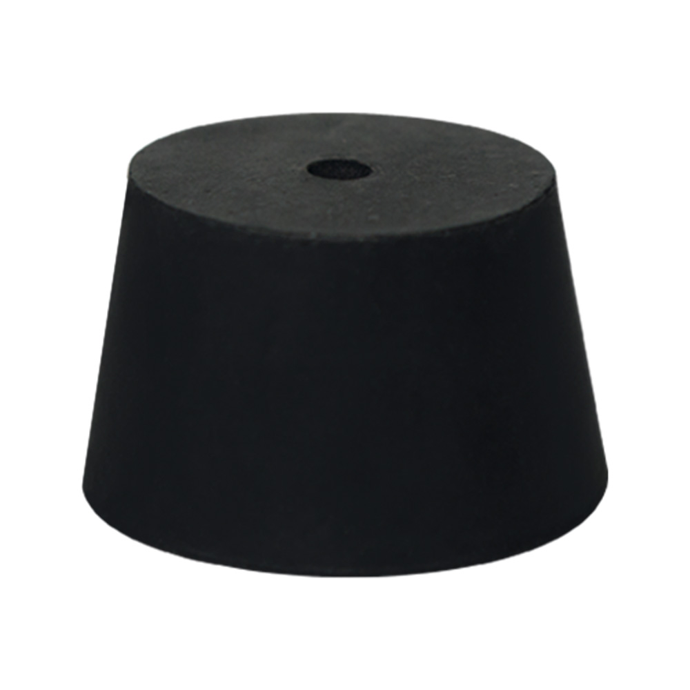 Size 2 Rubber Stopper with 1 Hole