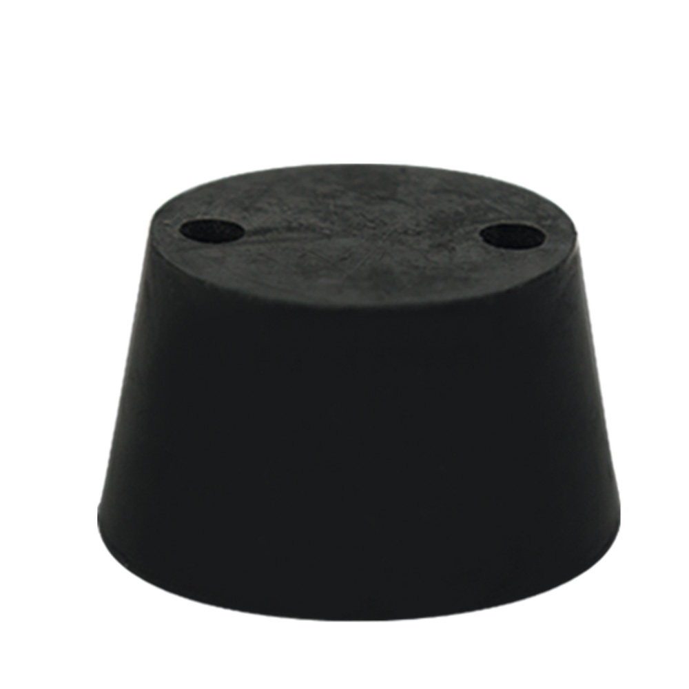 Size 1 Rubber Stopper with 2 Holes