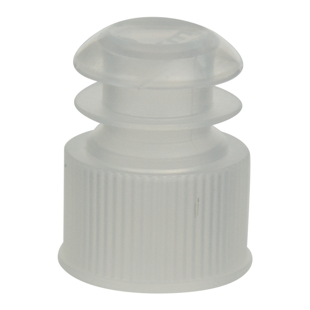13mm Clear Flanged Cap